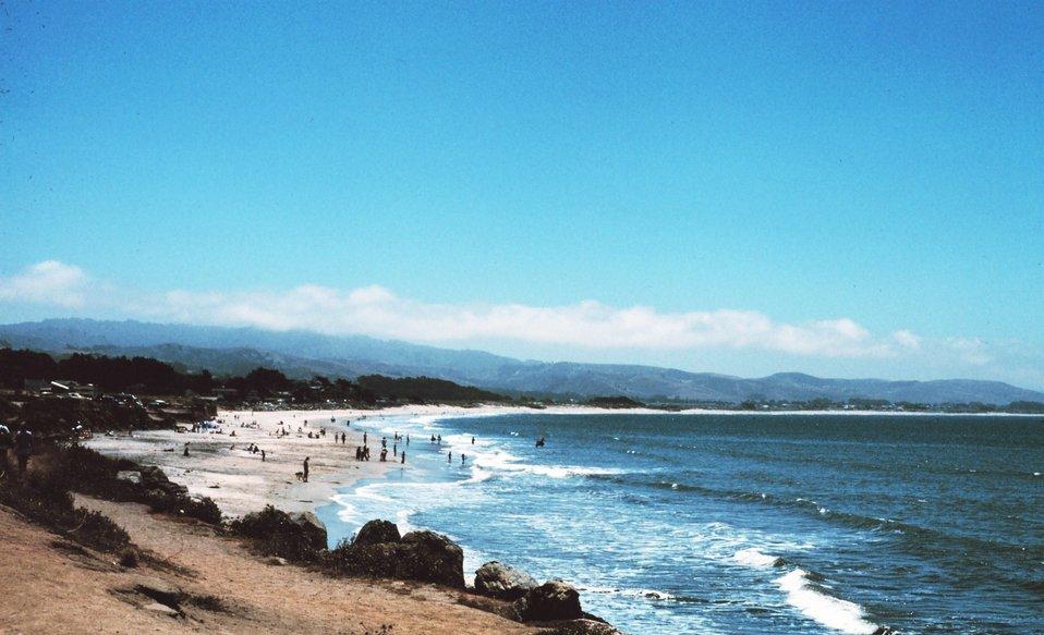 Asilomar Beach at Pacific Grove.