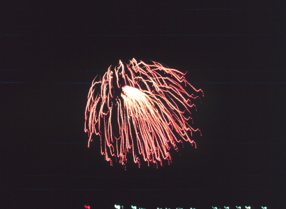 4th of July fireworks at Gloucester.