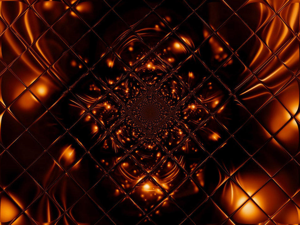 Fire glass fractal