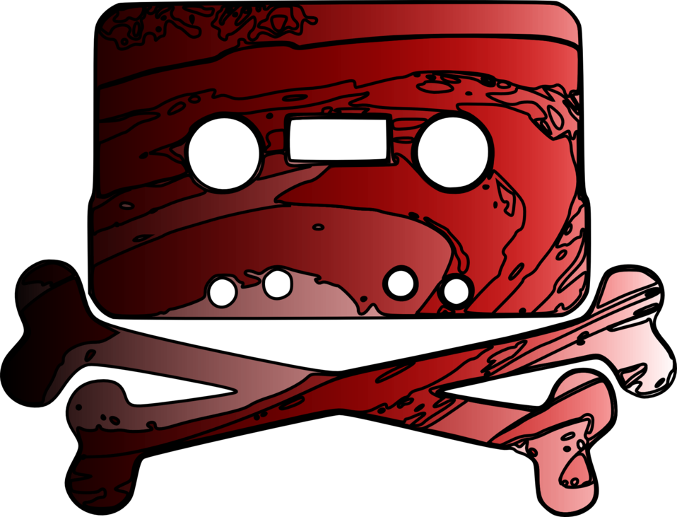 Cassette Jolly Roger (Rouge)