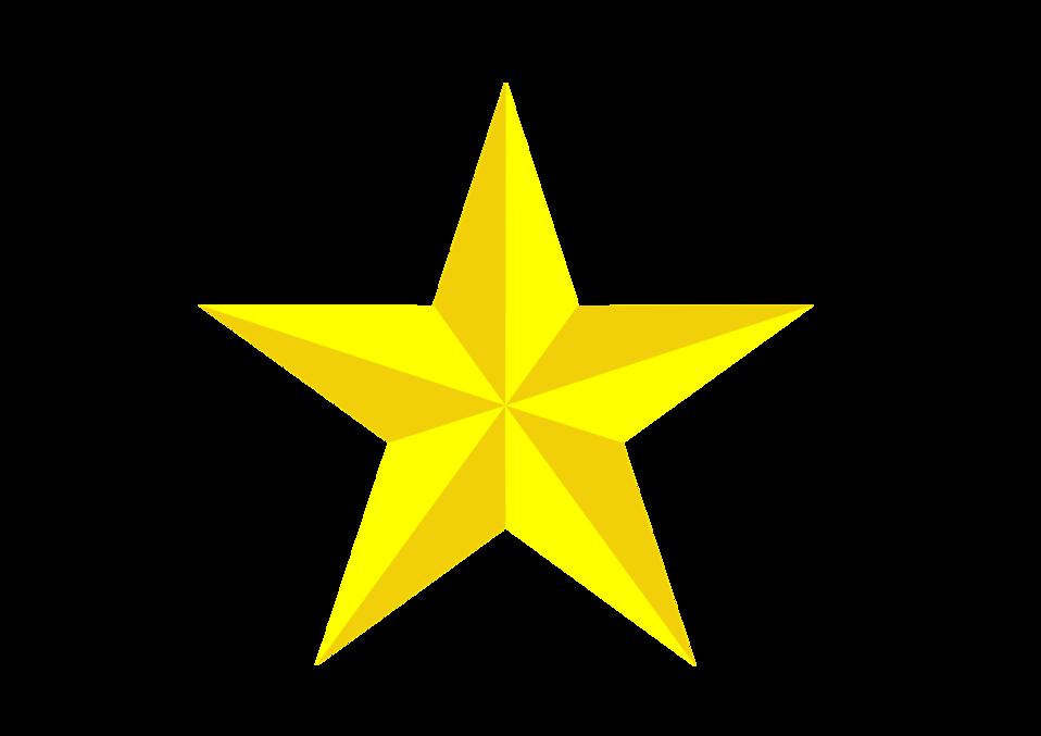 3D Spiral Star