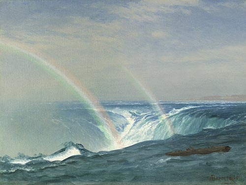 Bierstadt, Albert - Home of the Rainbow, Horseshoe Falls, Niagara.jpg
