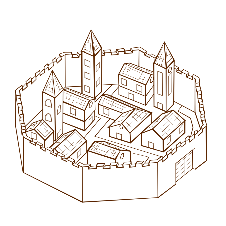 RPG map symbols City 2
