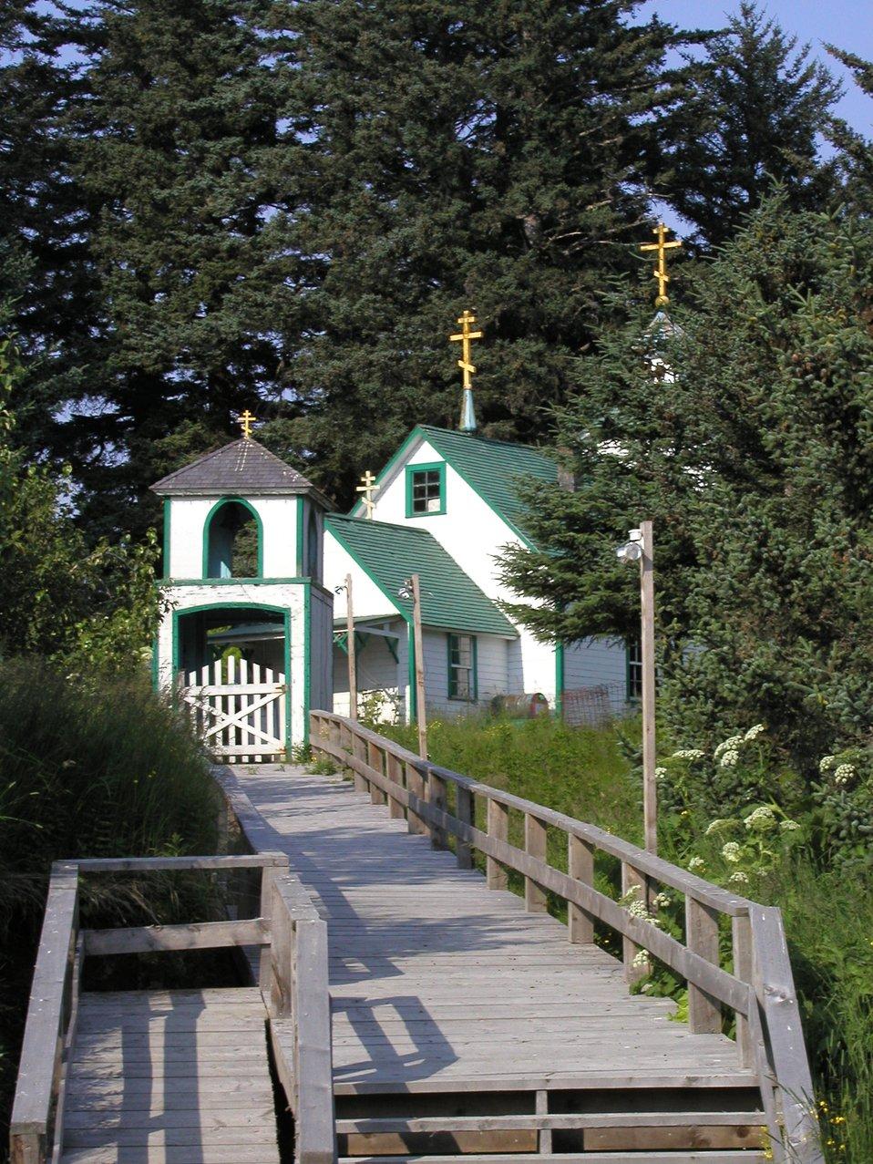 The Russian Orthodox Church on Spruce Island