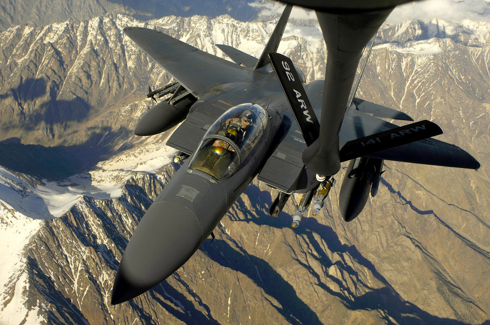 June 1 airpower summary: F-15s conduct show of force