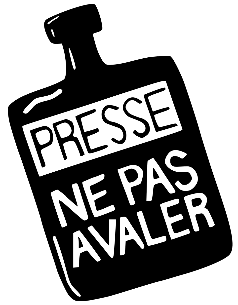 Presse ne pas avaler (Press : don't swallow)