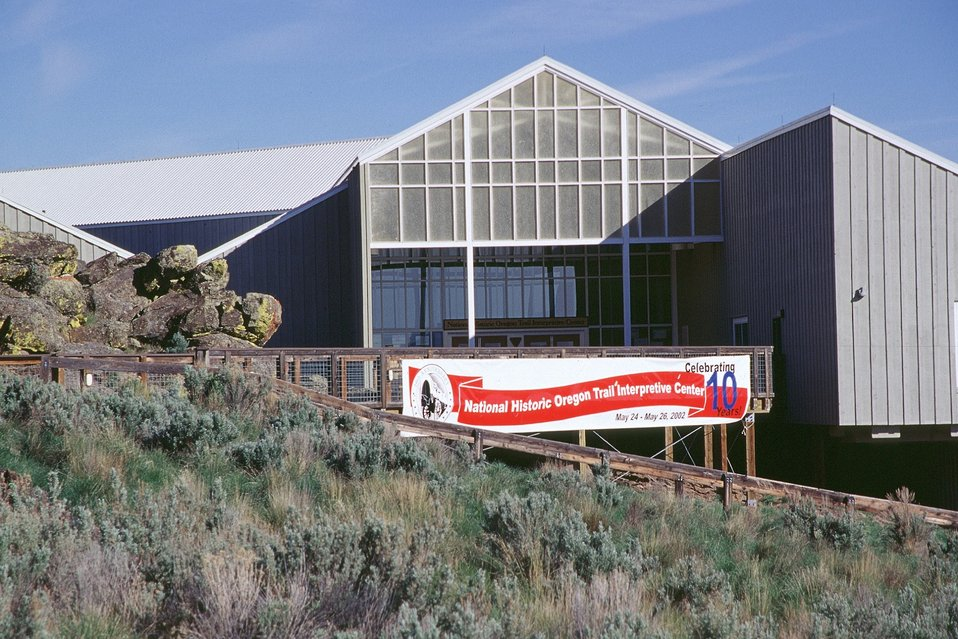 NHOTIC 10th Anniversary. Medium shot of Interpretive Center.