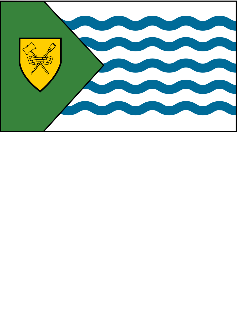 Flag of the city of Vancouver