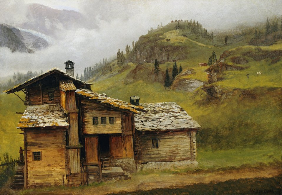 Albert Bierstadt - Mountain House.jpg