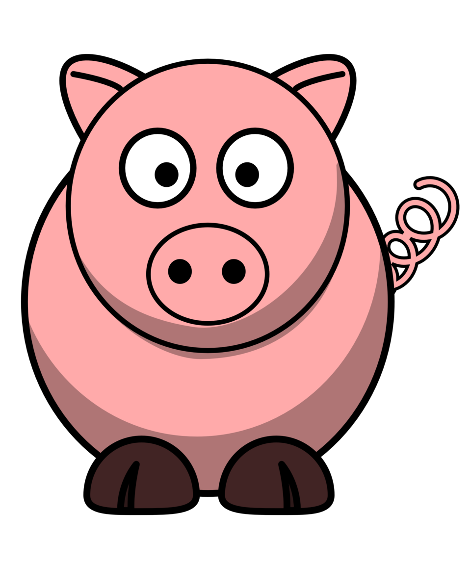 Pig-RoundCartoon