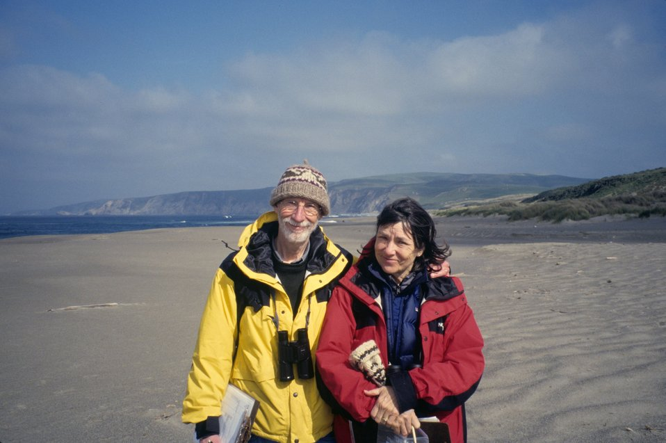 Point Reyes Great Beach.  Beach Watch volunteers.