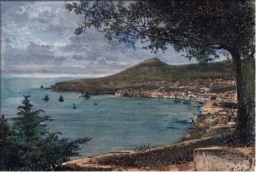 Baía do Funchal vista de Este - 1885.jpg