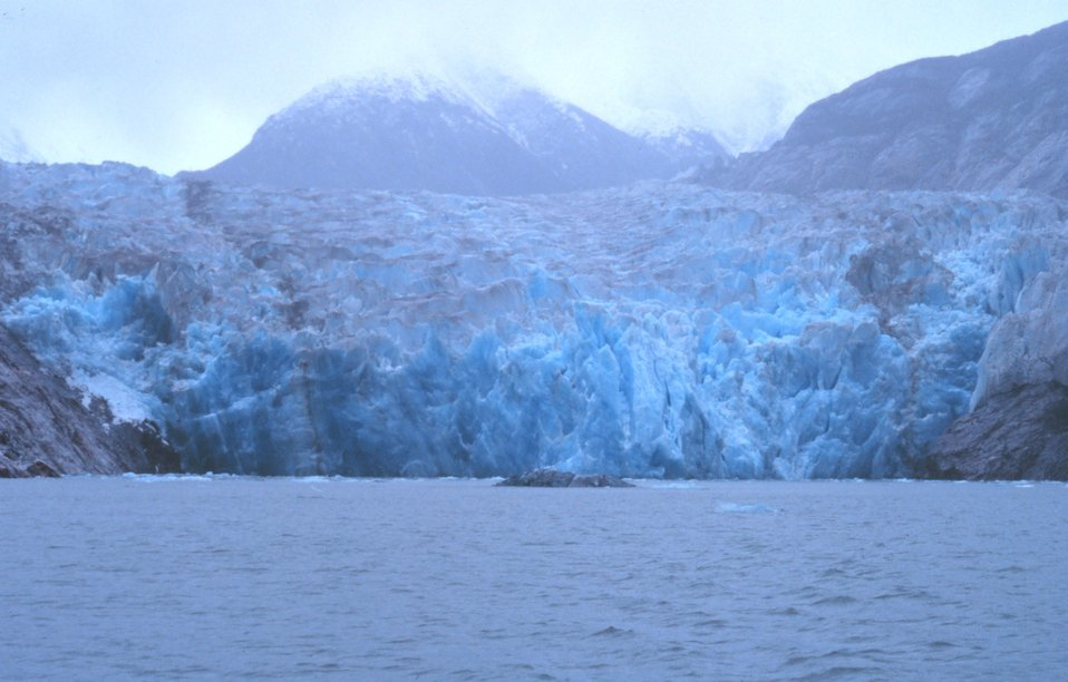 The Sawyer Glacier at the head of Tracy Arm Fjord