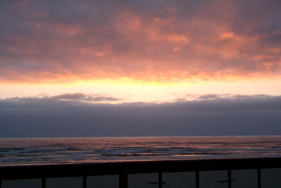 Sunset at Seaside.