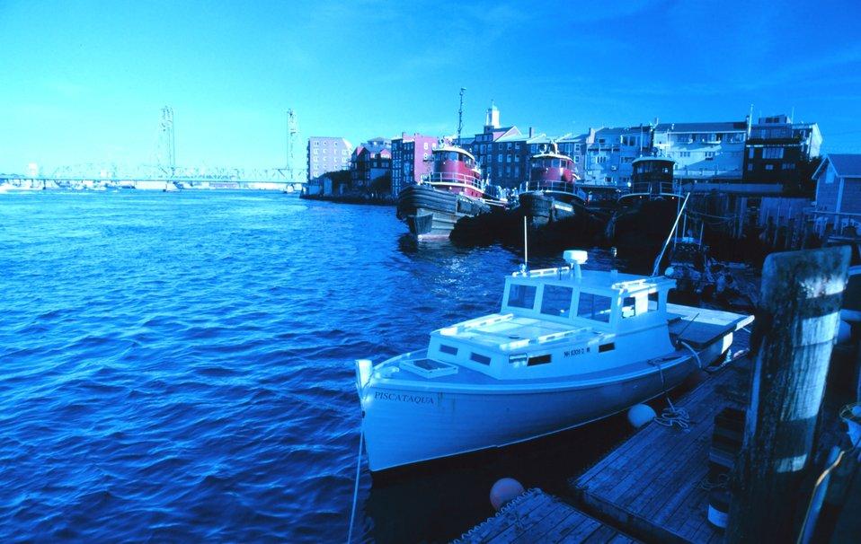 Portsmouth Harbor..