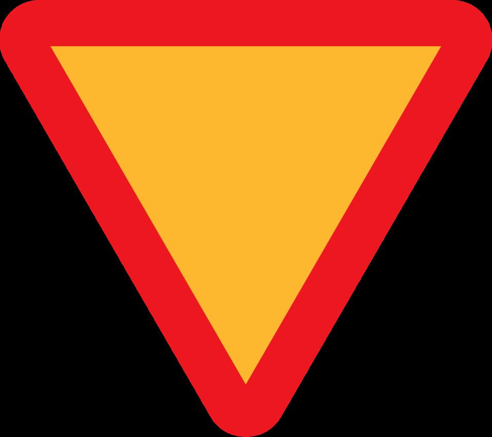 Yield Roadsign