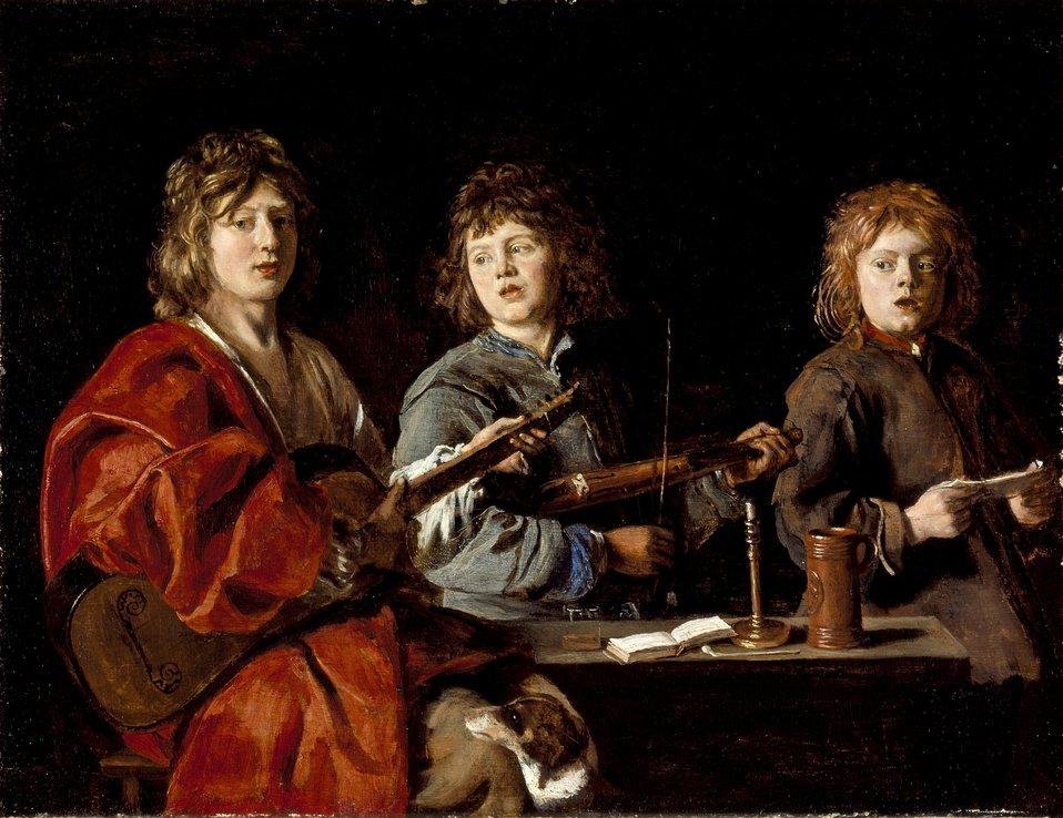 Antoine Le Nain - Trois jeunes musiciens.jpg