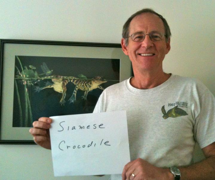 Earl Possardt, 'Siamese Crocodile,' Credit: USFWS