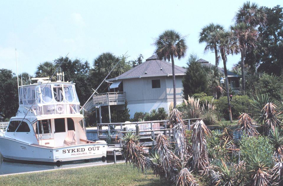 Recreational fishing boat and vacation home
