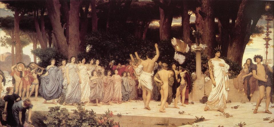 1876 Frederic Leighton - Daphnephoria.jpg