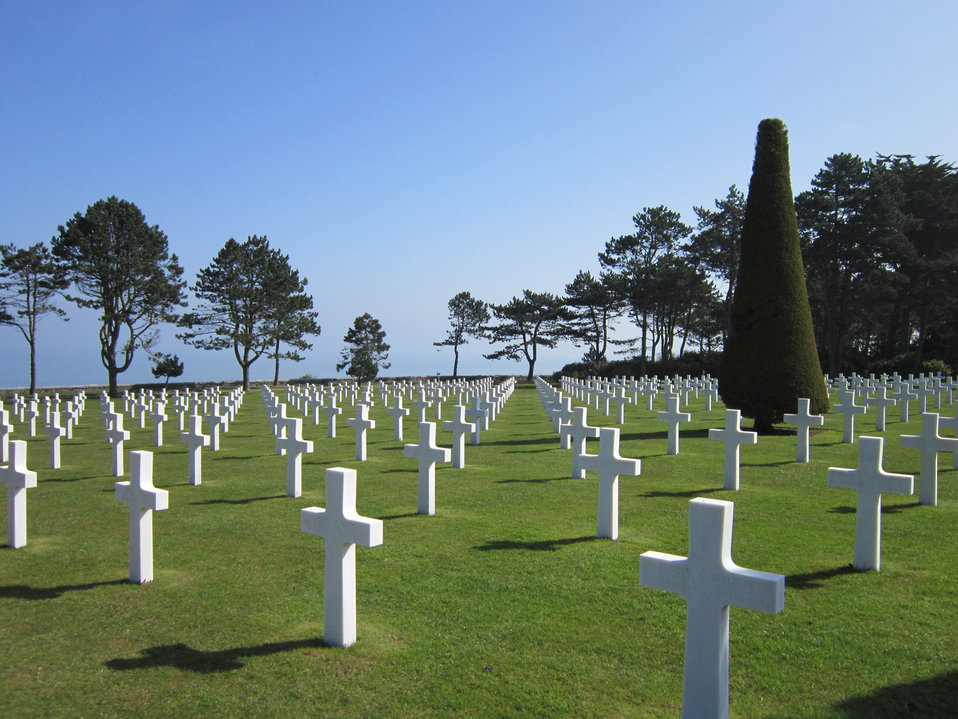 Omaha beach cemetery - normandy