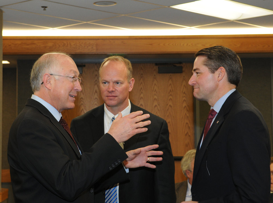 Wyoming - Gov Mead and Sec Salazar