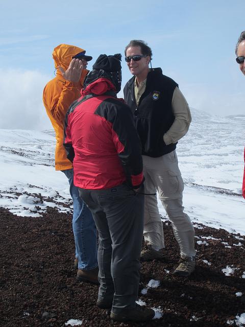 Dan Ashe on Mauna Kea