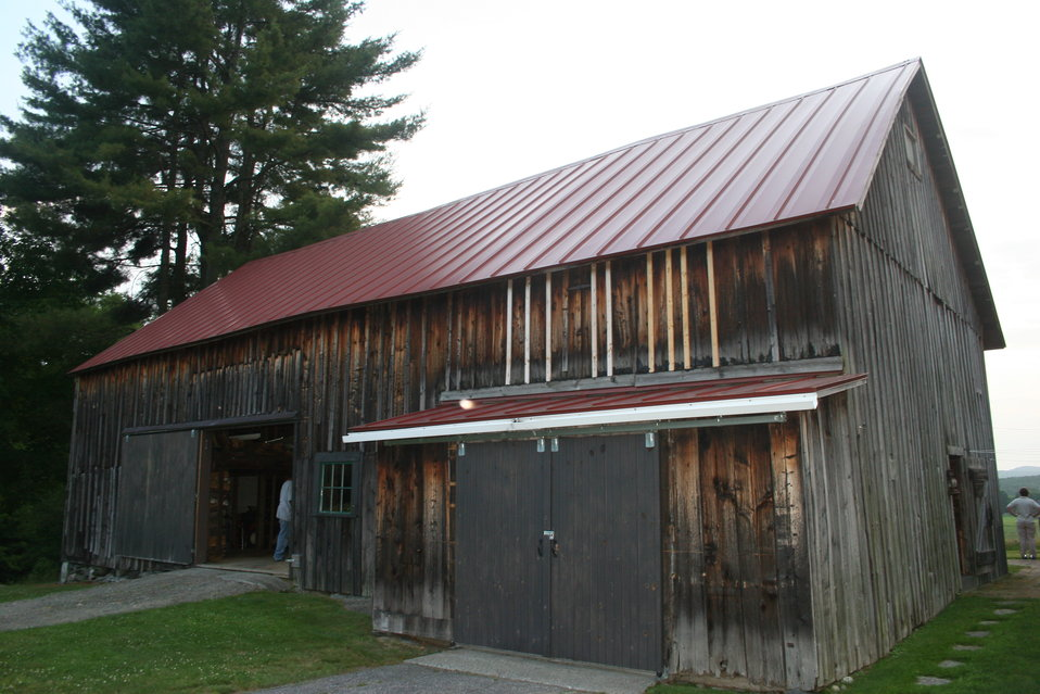 Barn with maternity colony