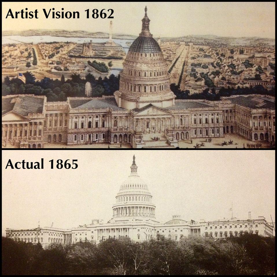Capitol 1860s