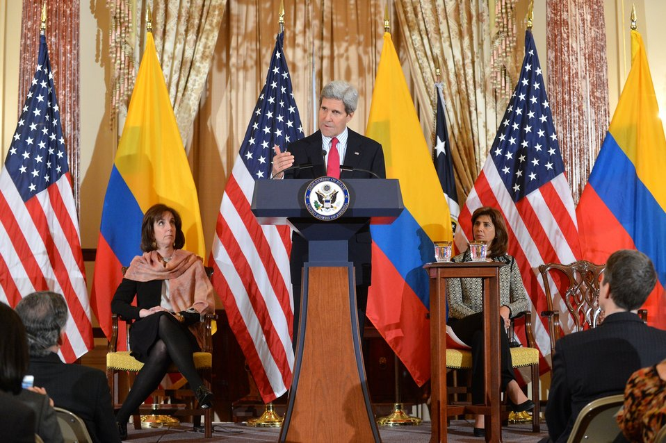 Secretary Kerry Delivers Remarks at the U.S.-Colombia High-Level Partnership Dialogue