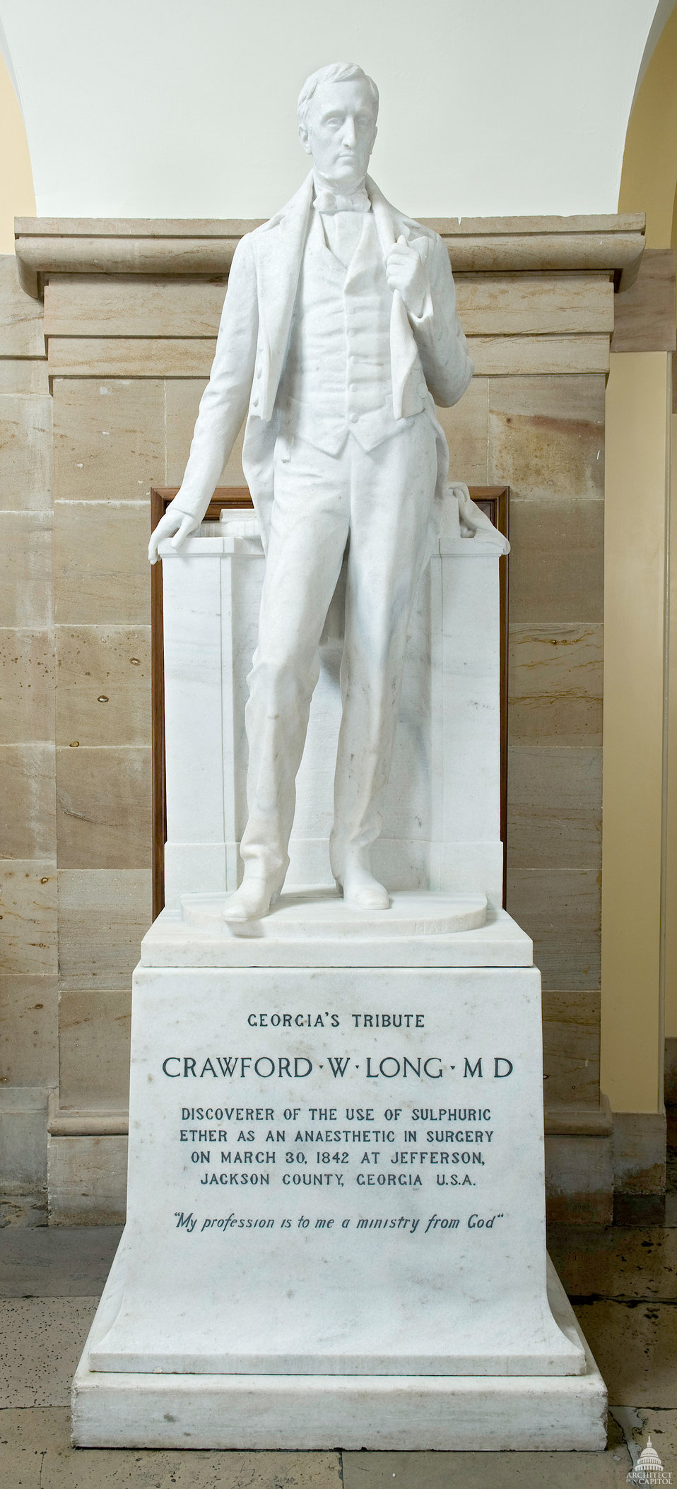 Crawford W. Long Statue