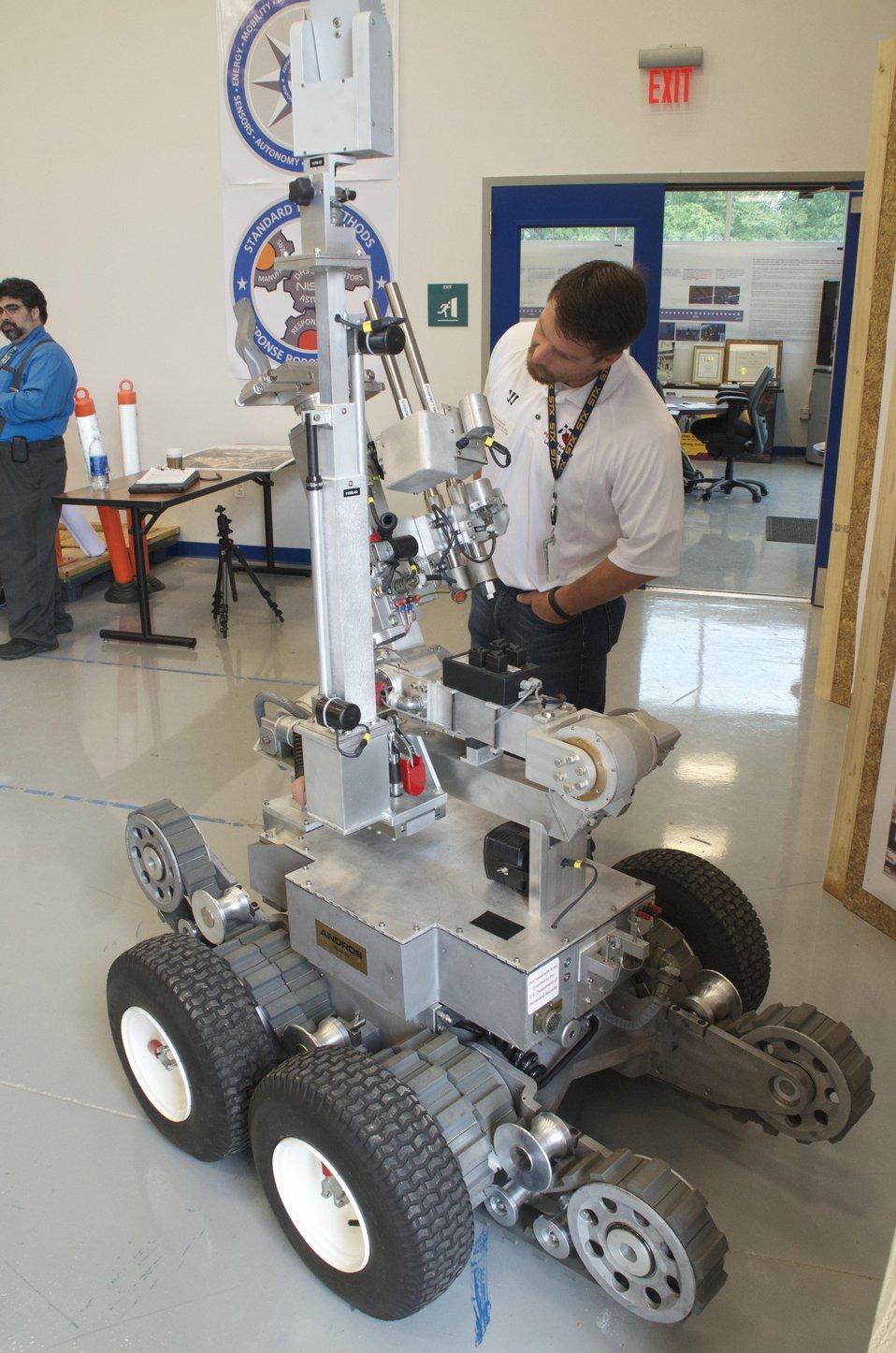 Remotec Andros Bomb-Disposal Robot