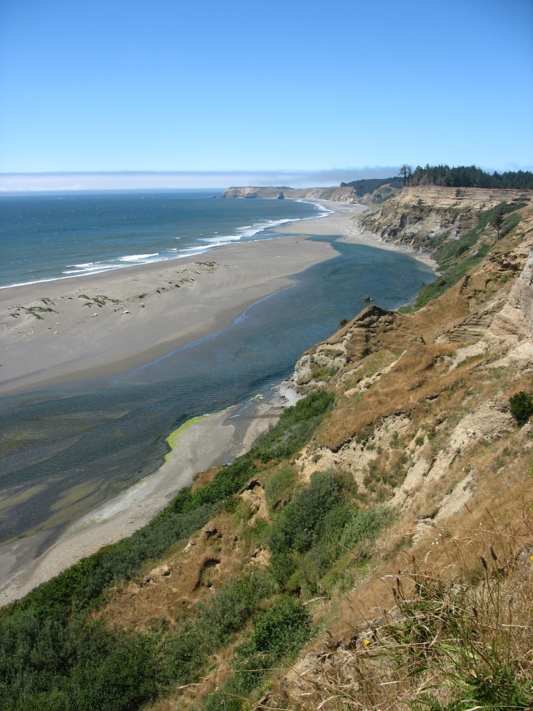 Elk River Spit, Oregon