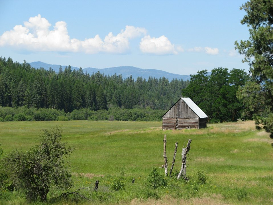 Hartnett Homestead1 -- Little Pend Oreille NWR, Washington