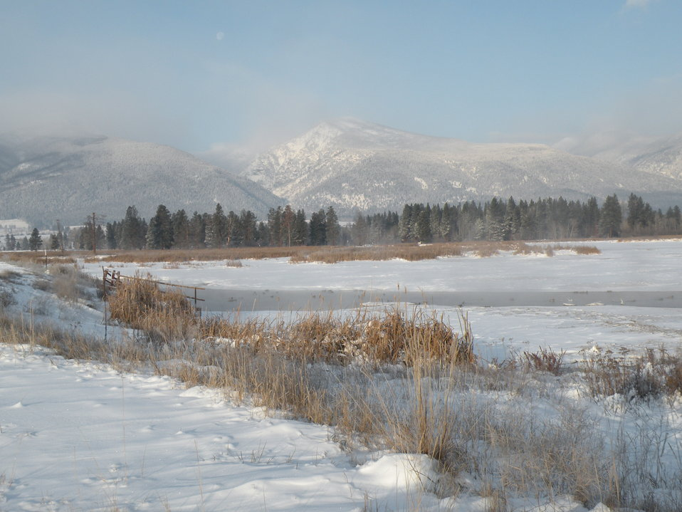 Winter Morning at Lee Metcalf National Wildlife Refuge