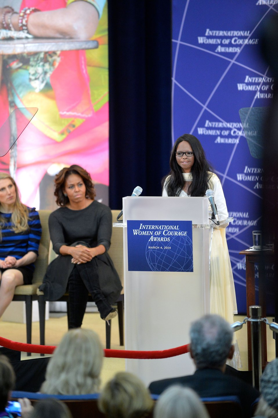 2014 IWOC Awardee Laxmi Delivers Remarks