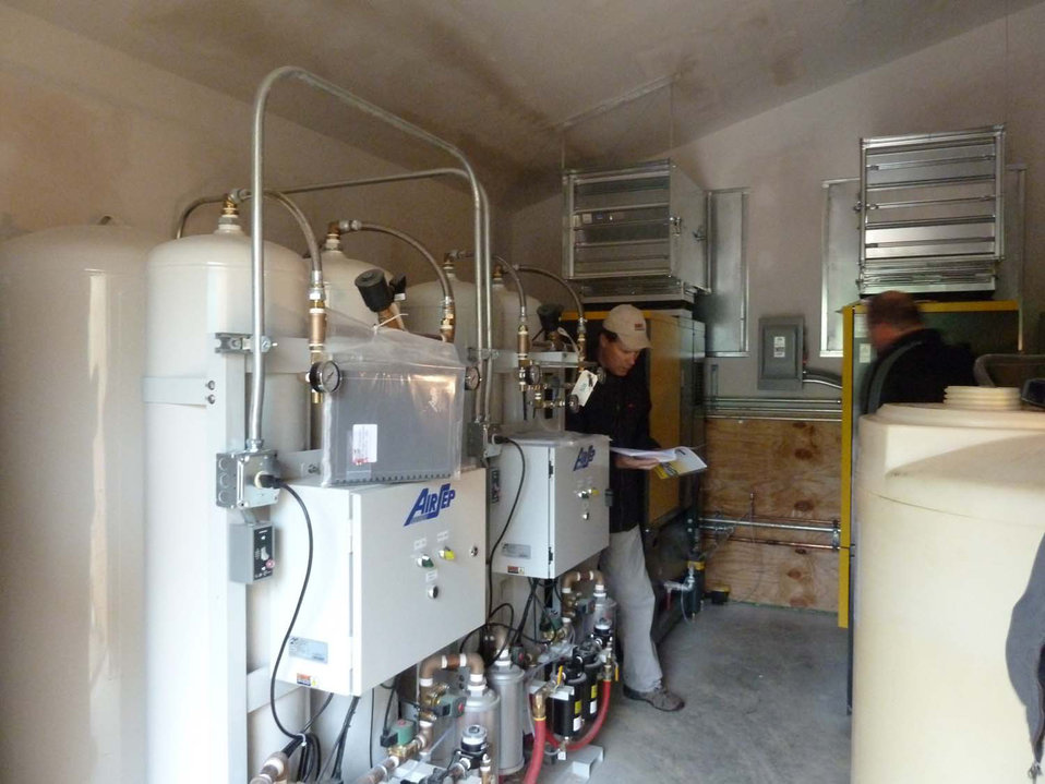 Water oxygenating system