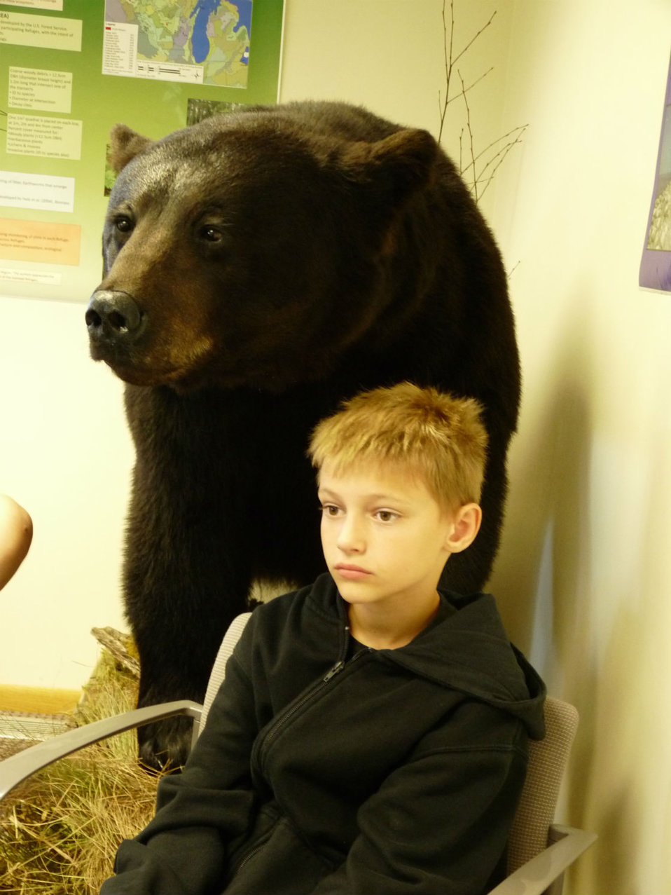 Grant Grams with Black Bear