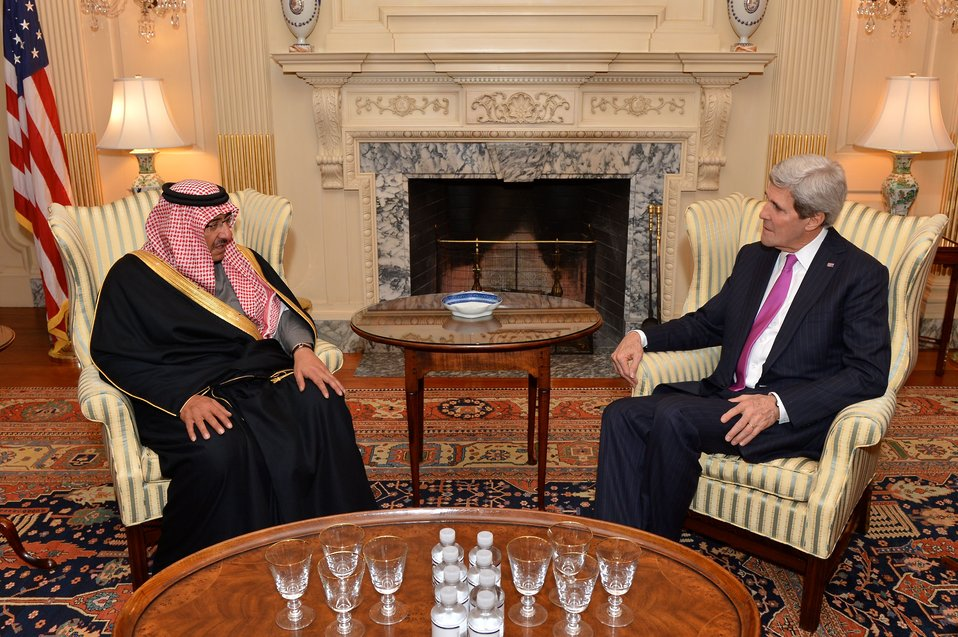 Secretary Kerry Meets With Saudi Interior Foreign Minister Mohammed bin Nayef