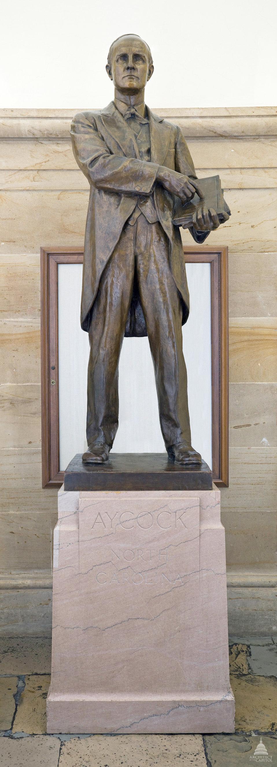Charles Brantley Aycock Statue