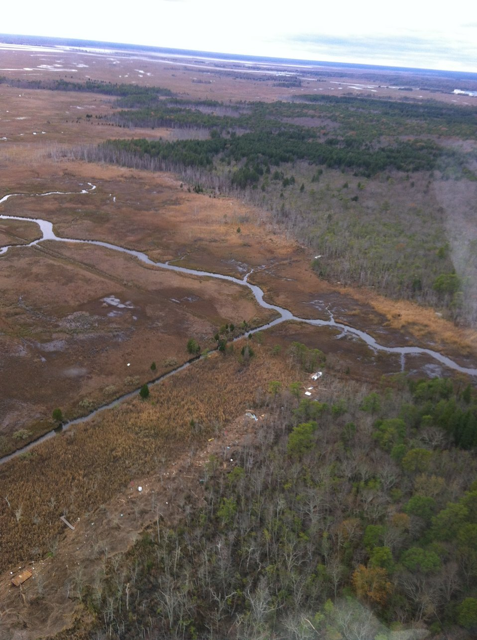 Aerial photo of Edwin B. Forsythe National Wildlife Refuge (NJ)