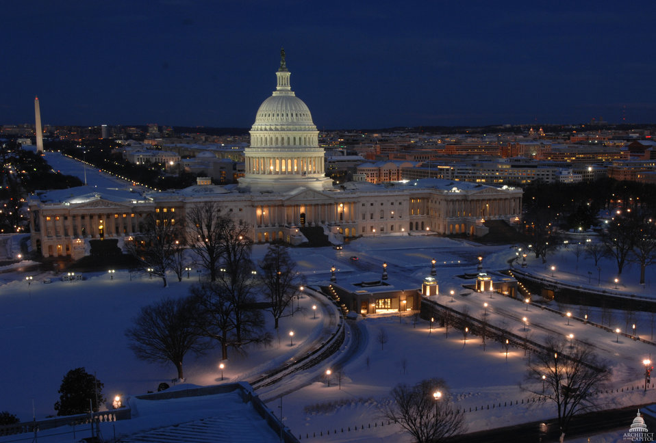 Snow in Washington, D.C.