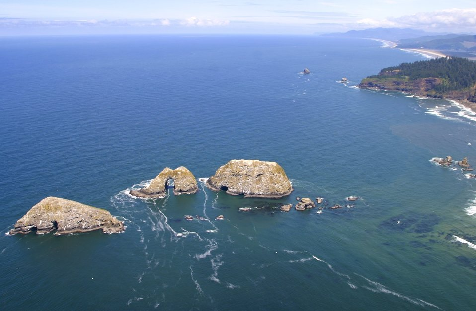 Cape Meares NWR, Three Arch Rocks