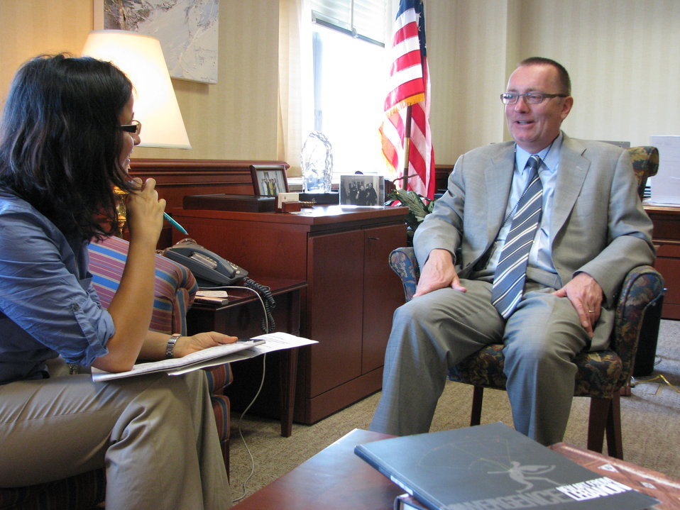 Assistant Secretary Feltman Is Interviewed By Al-Hayat's Joyce Karam