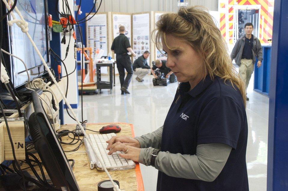 Ann Marie Virts - Robot Test Console
