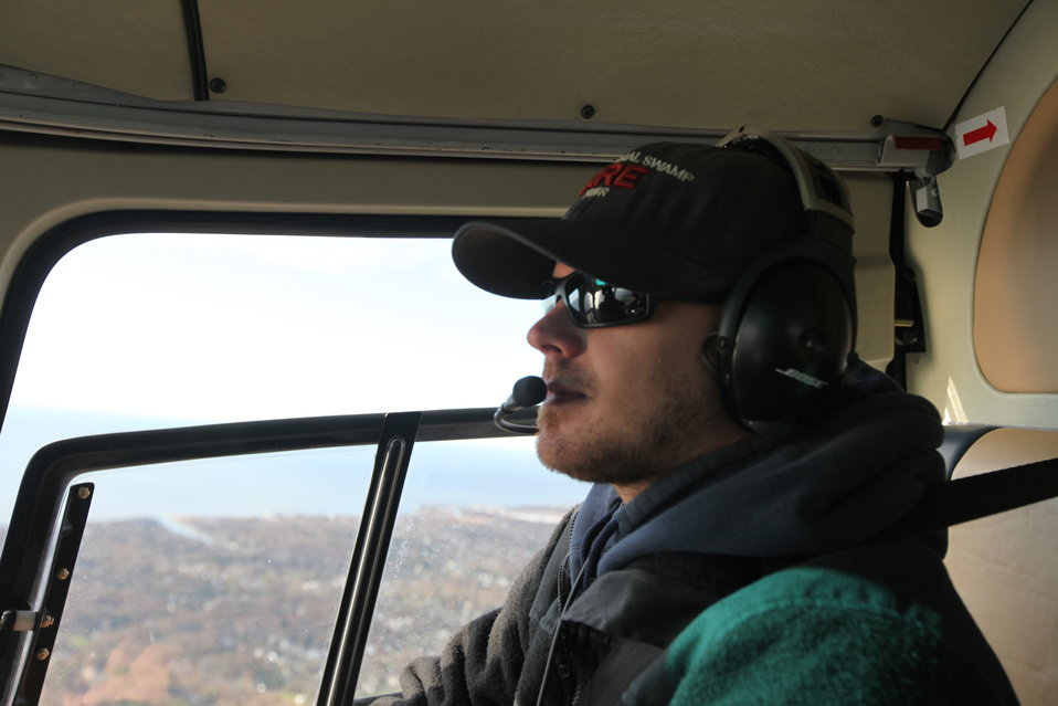 U.S. Fish & Wildlife Service Helicopter Manager Kyle Krzywicki