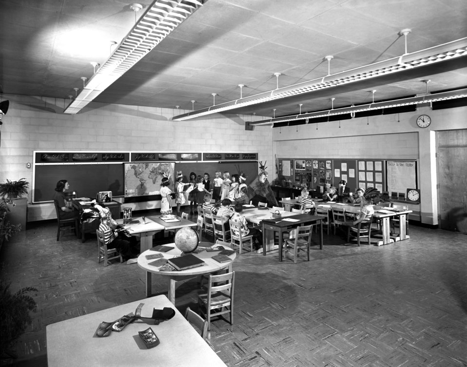 Willow Brook School Class Room 1949 Oak Ridge