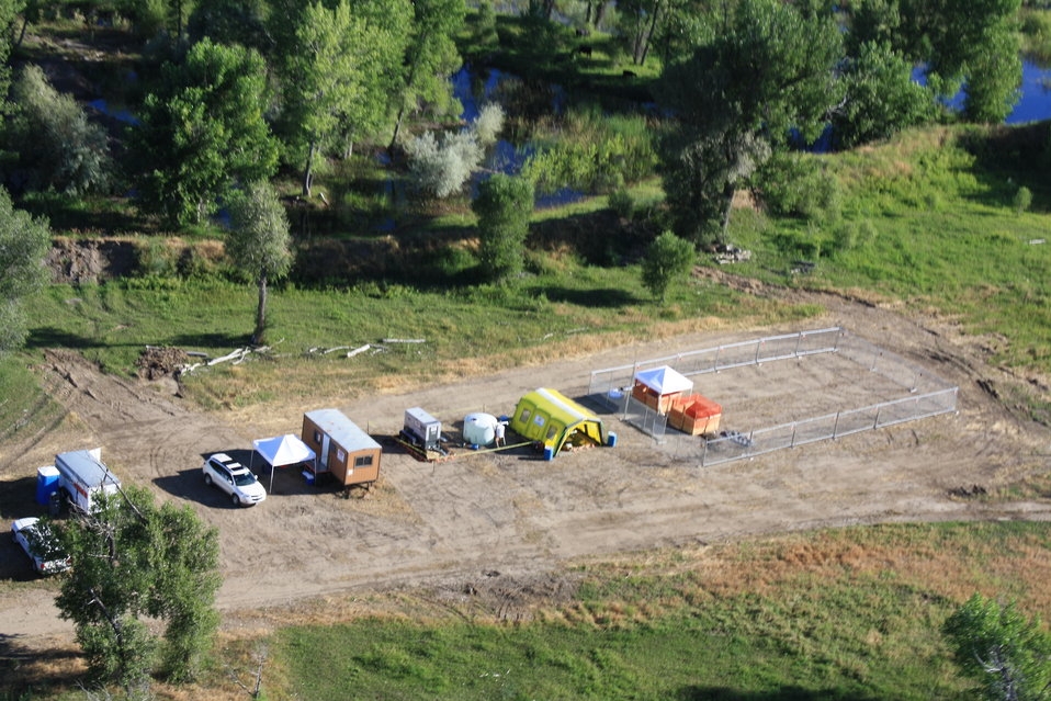 Aerial View of Bird Rehab Center