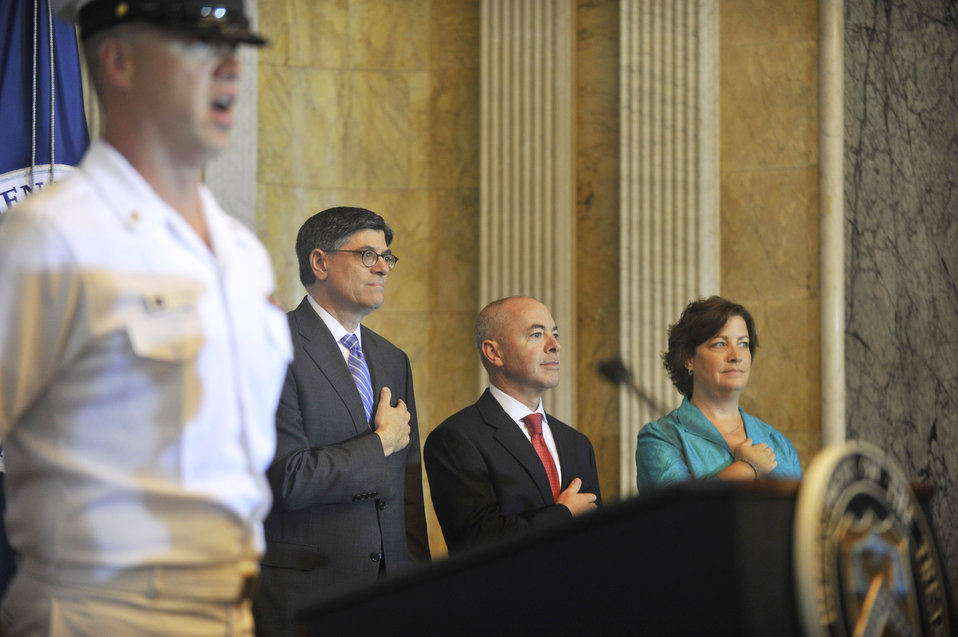 Treasury hosts Naturalization Ceremony before Independence Day
