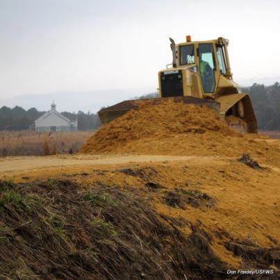 Photo of the Week - Repairs have begun at Edwin B. Forsythe National Wildlife Drive (NJ)